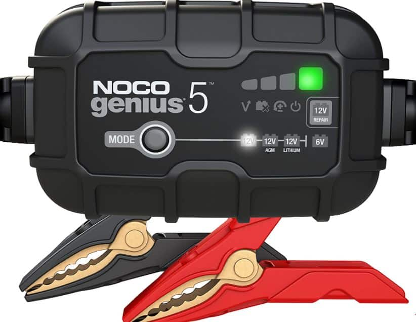 NOCO GENIUS5 deep cycle battery charger