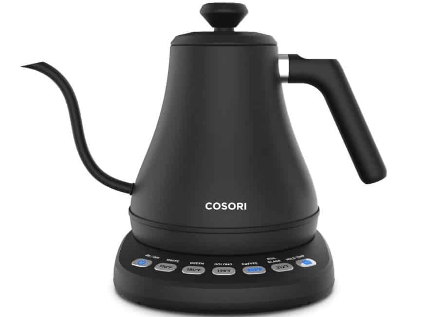 Overall Best Electric Gooseneck Kettles; COSORI Kettle