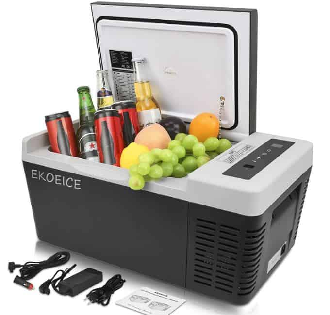 Most Effective Electric Chiller; EKOEICE Portable Electric Cooler