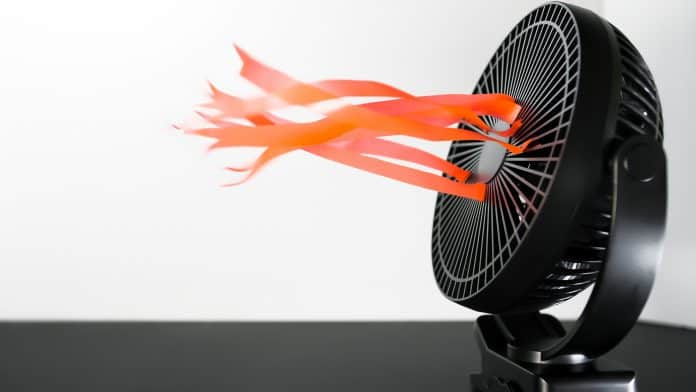 Electric,Re-chargeable,House,Fan.